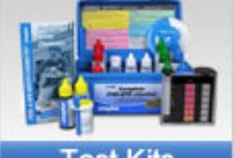 Test Kits / Swimming Pool Test Kits, Test Kit Parts, Test Kit Replacement Chemicals and Test Strips