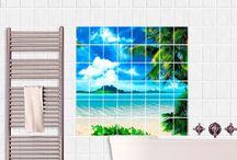 Bad Ideen / Dein #Badezimmer wird zur #Wellness #Oase. Mit zahlreichen Produkten, die hoher Temperatur und Luftfeuchtigkeit strotzen, setzt du dein #Bad gekonnt in Szene und erntest Komplimente. Finde deinen Stil und entdecke neue Möglichkeiten mit Bilderwelten.de #In#Bad#und#WC#alles#OK #schöne Badezimmer #Ideen #Wand #Fliesen und #Fenster