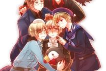 Hetalia!!! The Nordics ^^