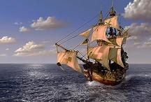 Pirates ships