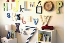 Playroom/Boys study / by Jenny Fazzolari