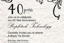 Invite online inviteonline on pinterest company anniversary invitations find invitation wordings for company business anniversary events stopboris Gallery