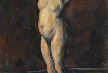 Paul Cézanne / Paul Cézanne, né le 19 janvier 1839 à Aix-en-Provence, mort le 22 octobre 1906 dans la même ville, est un peintre français, membre du mouvement impressionniste, considéré comme le précurseur du cubisme. Il est l'auteur de nombreux paysages de Provence et particulièrement de la campagne d'Aix-en-Provence. Il a notamment réalisé plusieurs toiles ayant pour sujet la montagne Sainte-Victoire.