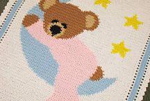 tejidos a crochet / patrones de tejidos al crochet