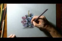 pencil colour draw