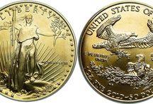 Vintage Gold Coin / Etsy.com