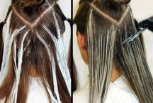 Balayage technical technique