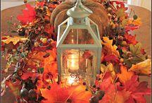 jesenná vyzdoba
