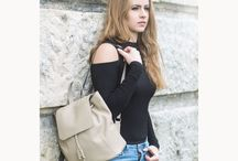 Dámske ruksaky z EKO kože