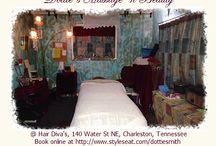 Dottie's Massage 'n Beauty / Services and products from Dottie's Massage 'n Beauty, and Hair Diva's in Charleston, TN / by Dottie Smith