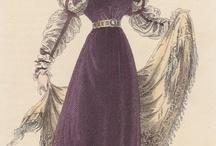 Fashion plates: 1820s