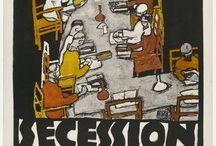 Art Deco & Secession poster / grafika art deco i secesyjna