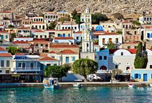 Halki island, Greece / Beautiful Halki