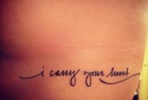 Tattoo ideas <\3