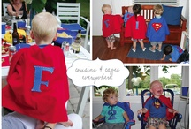 Super Raffy Second Birthday Ideas / Ideas for a superman super powered themed birthday party