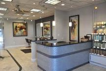 salon reception/front desk / by Chrissy Caliguri-Schantz