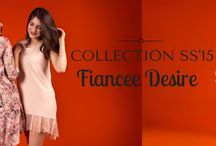 COLLECTION SS'15 Fiancee Desire / New spring/summer collection 2015 for self-confident and brave women! The collection is inspired by emotions and moods women in a state of engagement.  SHOP: www.dawanda.com/shop/natgor WWW: www.nataliagorzolka.pl