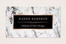 Makeup Business Cards / Makeup business cards that are fully customizable! #beautician #makeup #salon #fashion