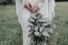 Bohemian/Free-spirited Bride / Inspiration for the free spirited bride