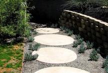 Calçadas / mosaicos, tipos de revestimentos, pedras