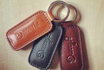Leather Keychain / 0
