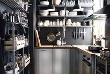 Kitchens / Cocinas bien aprovechadas en espacio