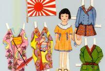 Paper Dolls: Asian