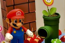 Festa temática - Mario / #party #geek #mario