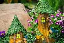 Furnish a Fairy Garden