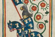 medieval illuminated manuscripts / beautiful and funny illustrations from medieval manuscripts