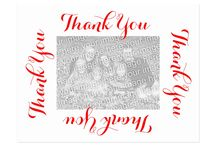 Personalized Thank You Postcards with Photo