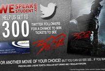 WeSpeakStudent / Stay tuned for contests, deals, discounts & more #StudentPerks!