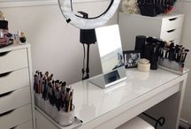 bedroom ideas   decor & photography/art set up