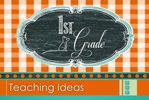 "1st Grade Teaching Ideas / This board contains teaching ideas, lessons, and art activities for first grade teachers. GUIDELINES FOR THIS BOARD: In an effort to be fair and provide balance, please limit the pinning of paid items to 3 per day and pin with a 3:1 ratio... 3 non-paid pins for every paid pin you add. Paid pins must be marked with a ""$"" symbol.  Thank you for your varied contributions. :)"