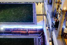 Alfredo Pirri e Alvin Curran: Passi / Museo Novecento, Firenze 11 settembre 2015  L'intervento di Alfredo Pirri che ha trasformato il chiostro del museo in un'installazione audio visiva con la collaborazione del musicista americano Alvin Curran.