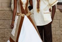 Afro Wedding Dress Nigerian Bride
