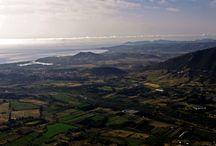 la Sardegna in volo / foto aeree