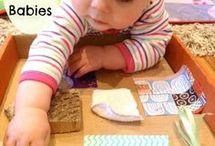 Infants sensory play