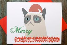 Funny Christmas Cards you *may* receive from our family....if your good!