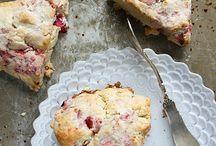 Baking scones etc
