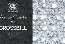 CRAFT: Crochet Stitches / by TessaJo Vowels