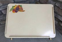 Vintage Bed trays