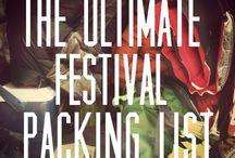 Festival pack List