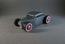 wood toy hotrod