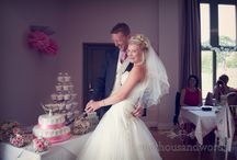 Cutting the Cake Photographs / The more interesting of our cutting the cake wedding photographs