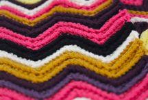 Yarn & thread / Knitting, crochet, embroidery: inspiration, ideas, patterns etc.