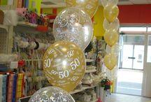 Archi di palloncini / Archi di palloncini gonfiati ad elio adatti per l'ingresso e/o l'uscita degli ospiti dalla vostra festa di compleanno, laurea, anniversario, battesimo, matrimonio, ecc.