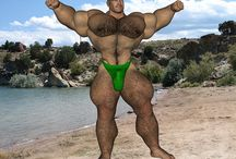 [Shannon-Furry] Bodybuilder Hairy Muscle Bear / Bodybeef model 'Shannon' - Visit http://www.bodybeef.com/studios/shannon---premium-sets for Shannon's nude photo sets!