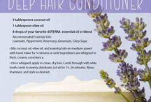Essential oils for skin & body