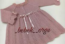 pletené šatočky